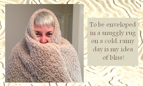 To be as snug as a bug in a rug!