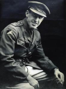 Hugo Throssell in uniform 2